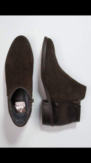 Dunkelbraune Kanna Ankle Boots in Gr.37