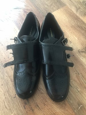 Zara Wingtip Shoes black brown