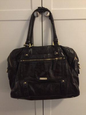 Esprit Laptop bag black brown-dark brown