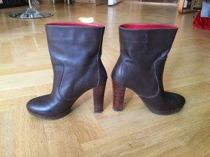 Cinque Slip-on Booties dark brown-black brown