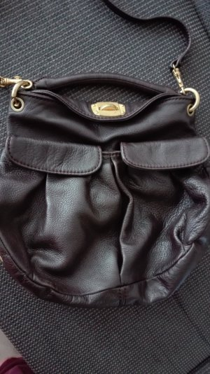 Miu Miu Carry Bag dark brown leather