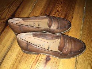 Tamaris Mocasines marrón oscuro-marrón