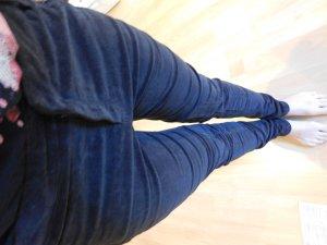 Esprit Pantalón de pana marrón-burdeos