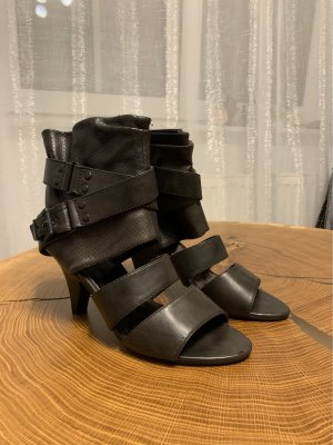Graceland Strapped High-Heeled Sandals dark brown