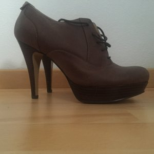 Dunkelbraune Schnür Pumps von Nine West in 38