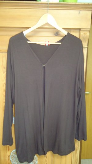 dunkelbraune Shirtjacke OLSEN 46