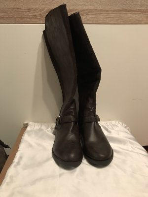 Atmosphere Stretch Boots dark brown