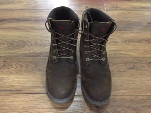 Timberland Lace-up Boots brown leather