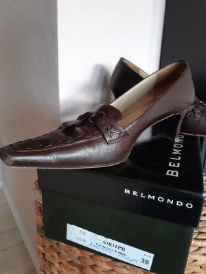Belmondo Loafers dark brown leather