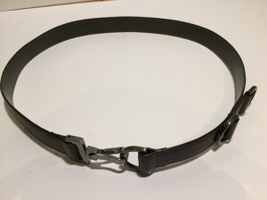 Hugo Boss Waist Belt dark brown leather
