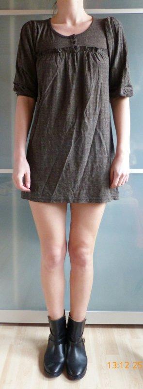 dunkelbraunes Pullikleid von H&M Größe S