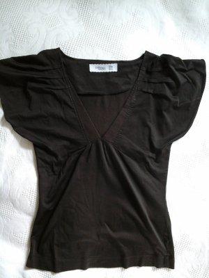 dunkelbraunes Shirt von Zara