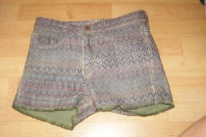 H&M Hot pants veelkleurig Katoen