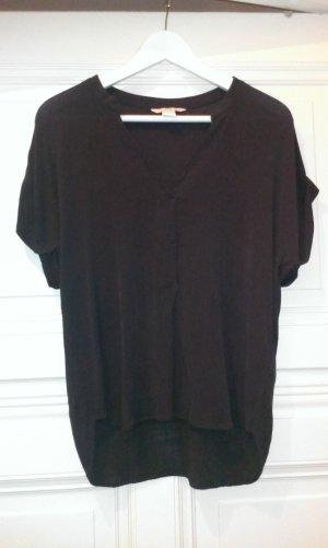 Dunkelgraue Bluse von H&M