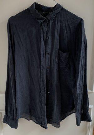 Dunkelgraue Bluse von ZARA