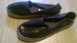 Blue Motion Espadrille Sandals anthracite
