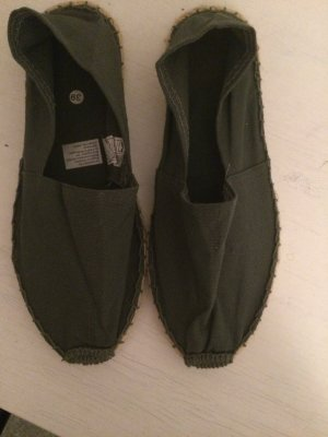Espadrille Sandals dark grey