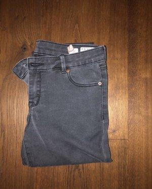 Review Pantalon 7/8 gris-gris foncé