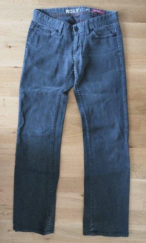 Dunkelgraue Jeans gerader Schnitt / straight fit Gr. S W 28