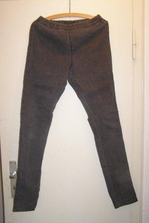 dunkelgraue Jeans Treggins M
