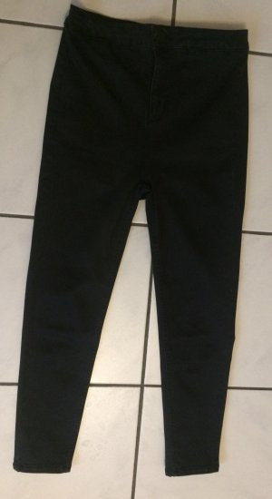 Urban Outfitters 7/8 Length Trousers dark grey cotton
