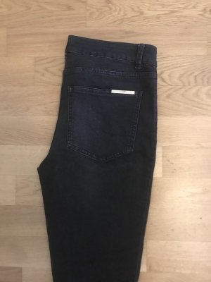 Marlene Birger Straight Leg Jeans dark grey