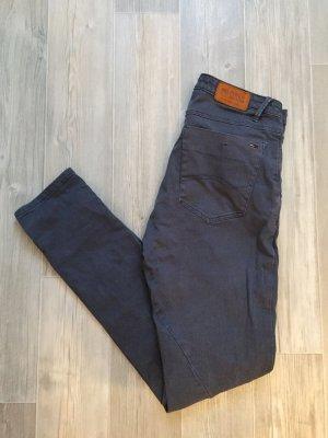 Tommy Hilfiger Denim Slim jeans antraciet-donkergrijs