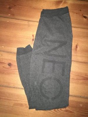 Adidas NEO Pantalon de sport gris foncé-gris anthracite