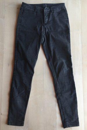 Vero Moda Drainpipe Trousers black-anthracite