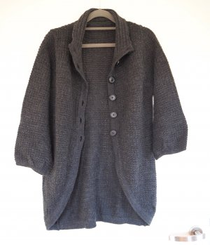 Vero Moda Coarse Knitted Jacket dark grey