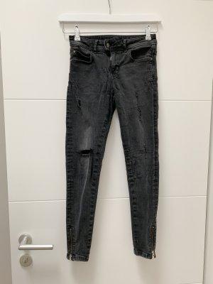 Dunkelgraue ZARA Jeans, Größe: 36
