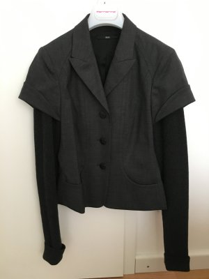 Hugo Boss Wool Blazer dark grey