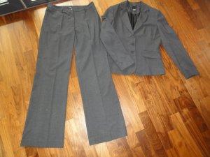 esprit collection Costume business gris foncé polyester