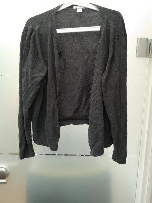 dunkelgrauer H&M cardigan