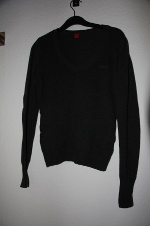 Esprit V-Neck Sweater anthracite