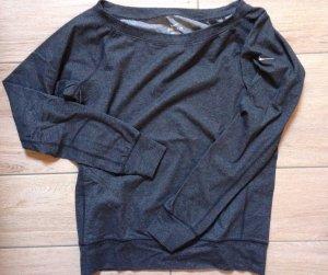 dunkelgrauer Pullover Pulli von Nike in Größe S