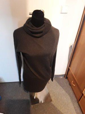 dunkelgrauer Pullover - Rollkragen - Langarm - Bench - Größe S/M