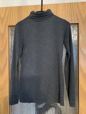 Clockhouse Jersey de cuello alto gris oscuro