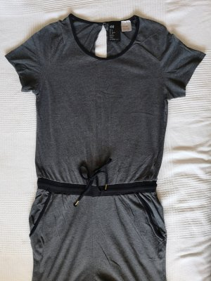 dunkelgrauer Schlafanzug von H&M, 36