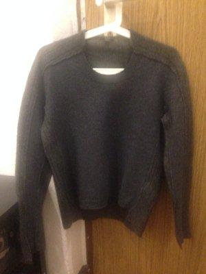 COS Jersey de lana gris oscuro-gris antracita Lana
