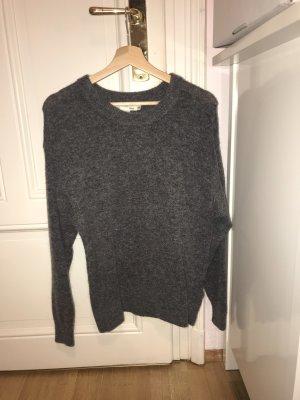 H&M Cashmere Jumper grey-dark grey