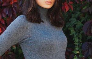 Zara Maglione dolcevita grigio