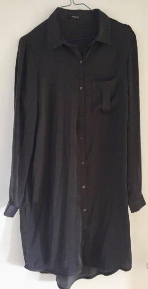 Dunkelgraues Blusenkleid von VILA