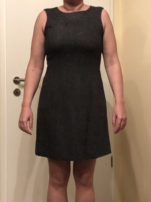 dunkelgraues Kleid Esprit