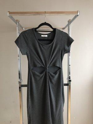 Chiffon jurk veelkleurig