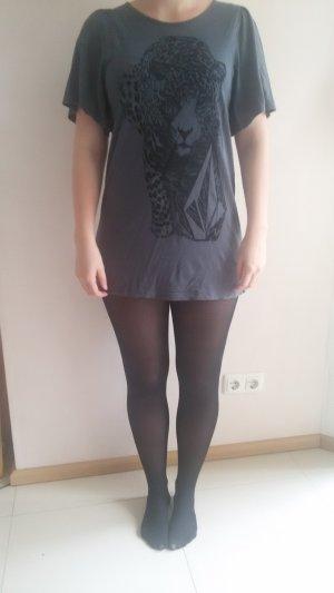 dunkelgraues kurzes Kleid von Volcom in Größe S