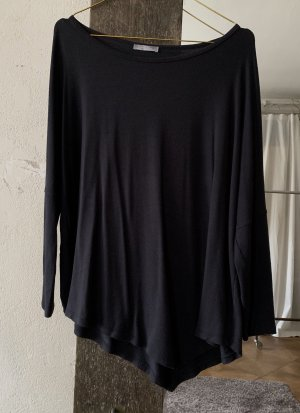 Zara Top lavorato a maglia grigio scuro-antracite