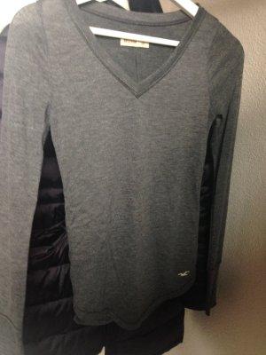 Dunkelgraues Shirt von Hollister