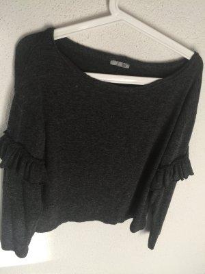 Dunkelgraues Shirt von Zara