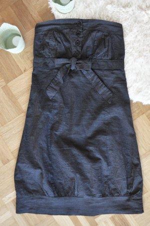 Dunkelgraues Sommerkleid für viele Anlässe